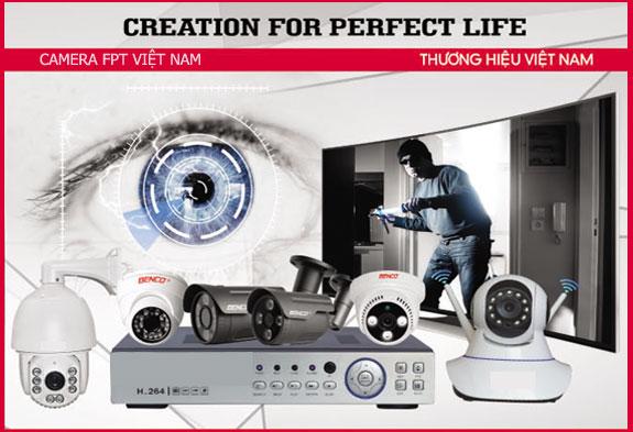 Lắp đặt camera benco trọn bộ dịch vụ của FPT VIỆT NAM quý khách không phải phát sinh bất kỳ chi phí nào. Camera an ninh uy tín