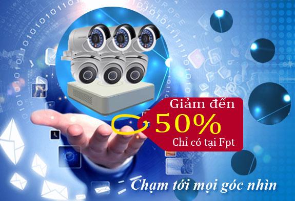 Lắp đặt 1 camera HIKVISION siêu khuyến mãi chỉ có tại FPT Việt nam 2.099.000 đ giám giá camera hikvision