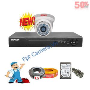 Lắp Đặt Trọn Bộ 1 Camera Giá Rẻ