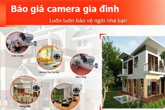 Báo giá camera an ninh gia đình