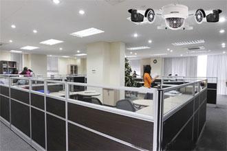 Lắp camera trụ sở Tập đoàn Thiên Ân tại Hoàng Mai - Hà Nội