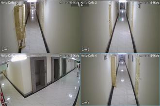 Lắp đặt camera chung cư HH4B Linh Đàm