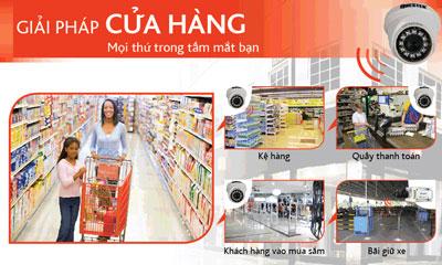 lắp đặt camera quan sát cửa hàng - Camera FPT Việt Nam