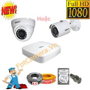 Lắp đặt camera Full HD giá rẻ