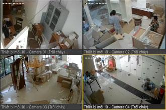 Lắp đặt camera tại chính kinh