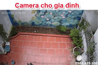 Lắp camera nhà ở giá rẻ tại Hà Nội