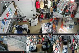 Lắp 40 camera cửa hàng quần áo giá chỉ 3,8tr