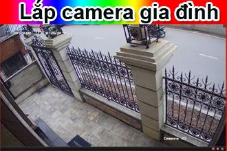 Lắp camera cho gia đình giá rẻ