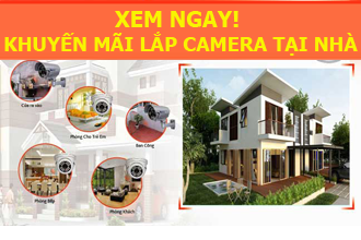 lắp camera tại nhà Hà Nội