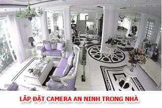 lắp đặt camera an ninh trong nhà
