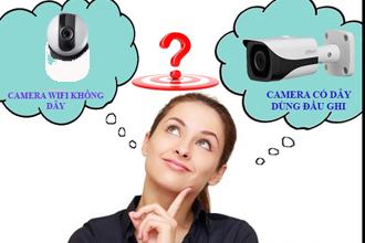 Tư vấn và lắp đặt camera gia đình